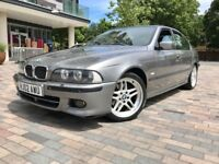 2002 02 Bmw 5 Series 540I M Sport Auto High Spec Xenon Lights SunRoof Double Glazing Sterling Grey