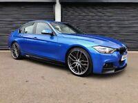 2014 BMW 318D M SPORT NOT 320D 330D AUDI A3 A4 A5 A6 S LINE C220 AMG VW GOLF PASSAT LEON JAGUAR XE