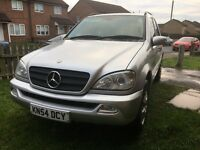 Ml 270 cdi 2004 in very good condition