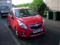 For Sale 5 door Chevrolet Spark LT only 7,800 mls 1 owner from new mint cond