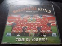 Manchester united come on you reds cd single