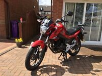 Honda CBF 125 - Immaculate Condition - Low Milage