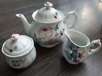 Brand New Accessorize 3 piece Tea set