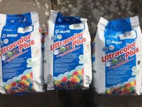 UNOPENED MAPEI GROUT - VARIOUS COLOURS & HG PRODUCTS