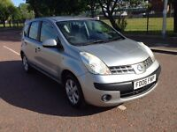 2006 Nissan Note 1.6 se , mot - May 2017 , full service history , 2 owners , focus, astra ,scenic