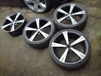 19' inovit spin alloy wheels