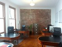 Co-working desk space available in creative, stylishly refurbished office by St Nicholas Market