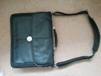 Genuine Dell Leather Laptop Shoulder Bag