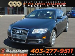 2008 Audi A6 3.2L Quattro / Sunroof / Leather / Back Up Cam