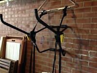 Rhodes Gear Bike carrying rack. Suitable for 2 bikes on back of car.