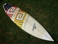 "Spider 6'8"" Sunny Garcia pro surfboard 6'8'' x 20'' x 2 3/8"