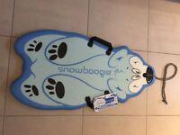 Snow boogie board (New)