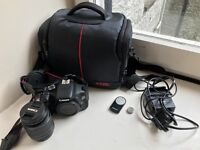 Like New DSLR Cannon 600D - Perfect for beginner or expert!