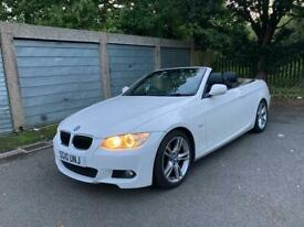 BMW 320D White M Sport Convertible Auto