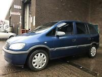 VAUXHALL ZAFIRA CLUB 1.6 7 SEATER LOVELY CAR AS NEW CONDITION