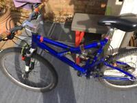 Ballistic full suspension mountain bike