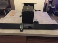 ROTH soundbar with Bluetooth and wireless subwoofer!