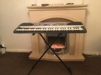 Casio Keyboard and Stand for sale!