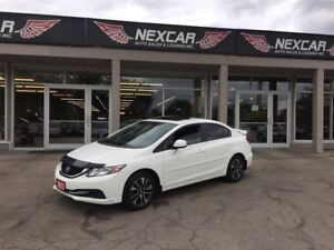 2013 Honda Civic EX 5 SPEED A/C SUNROOF BACKUP CAMERA 79K