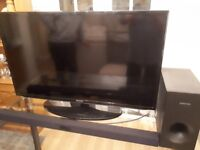"42"" Samsung HD TV c/w Samsung soundbar"