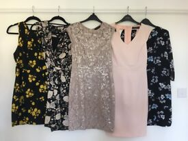 Collection of size 10 women's dresses