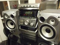 Sony high powered hifi system with DJ effects