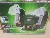Parkside Double Bench Grinder PDOS 200 B2 Brand New In Box