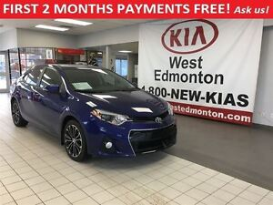 2015 Toyota Corolla S 2.0L Auto,FIRST 2 MONTHS PAYMENTS FREE