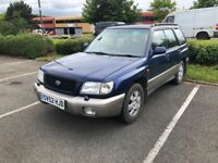 BARGAIN SUBARU FORESTER SPORT MOTED APRIL 19 RELIABLE 4X4 SERVICE HISTORY PX WELCOME £495