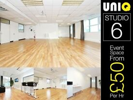 Event Location Venue Space Hire Catwalk Set Stage Dance Theatre Model Actor Casting Rehearsal London