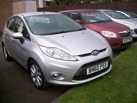 FORD FIESTA 68 TDCi. 1399cc. DIESEL. MANUAL. 67.3 MPG. ALLOY WHEELS. AIR CONDITIONING.