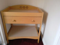 Mothercare playbead dresser changing table