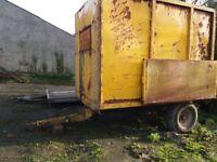 10 x 6 hydraulic tipping trailer