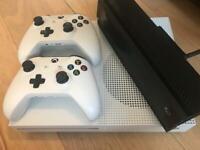 XBox One S Plus Kinect (Full Set)