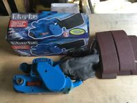 "Clarke 3"" Belt Sander. As new"