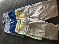 Boys next shorts size 9
