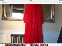 LADIES RED DRESSING GOWN