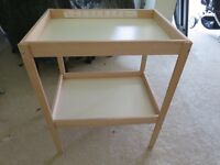 Ikea changing table unit