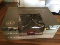 Brand New - Crofton - Preserving Starter Kit
