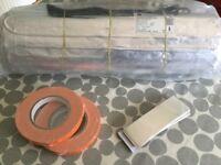 New Electric underfloor foil heating mat