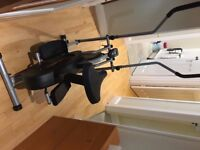 Confidence 2 in 1 elliptical cross trainer and exercise bike