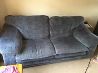 FREE 3 Seater Blue Sofa