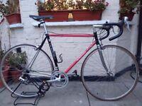 Italian Debarnardi Columbus Steel Frame Racer/Road bike