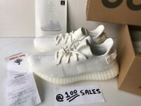Adidas x Kanye West Yeezy Boost 350 V2 Cream White UK10.5/US11/EU45 1/3 CP9366 + FL Receipt 100sales