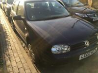 VOLKSWAGEN GOLF 1.6 AUTOMATIC 2002 LONG MOT... not polo Yaris focus. Astra