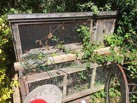 2 teir rabbit hutch