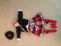 1967 Skipper doll Scottish dancing outfit
