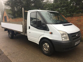 FORD TRANSIT 2.2 TDCI DROPSIDE TRUCK - 2007 - 13FT6 BODY - IDEAL FOR SCAFFOLDING - NO VAT!!!!!!!!!