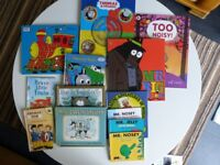 Pre-school Galt train jigsaw & 12 books all great condition