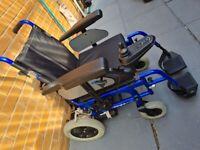 Enigma energi +power wheelchair